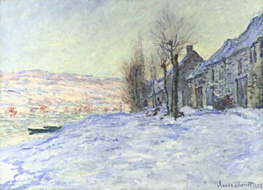 Monet__Lavacourt_Under_Snow