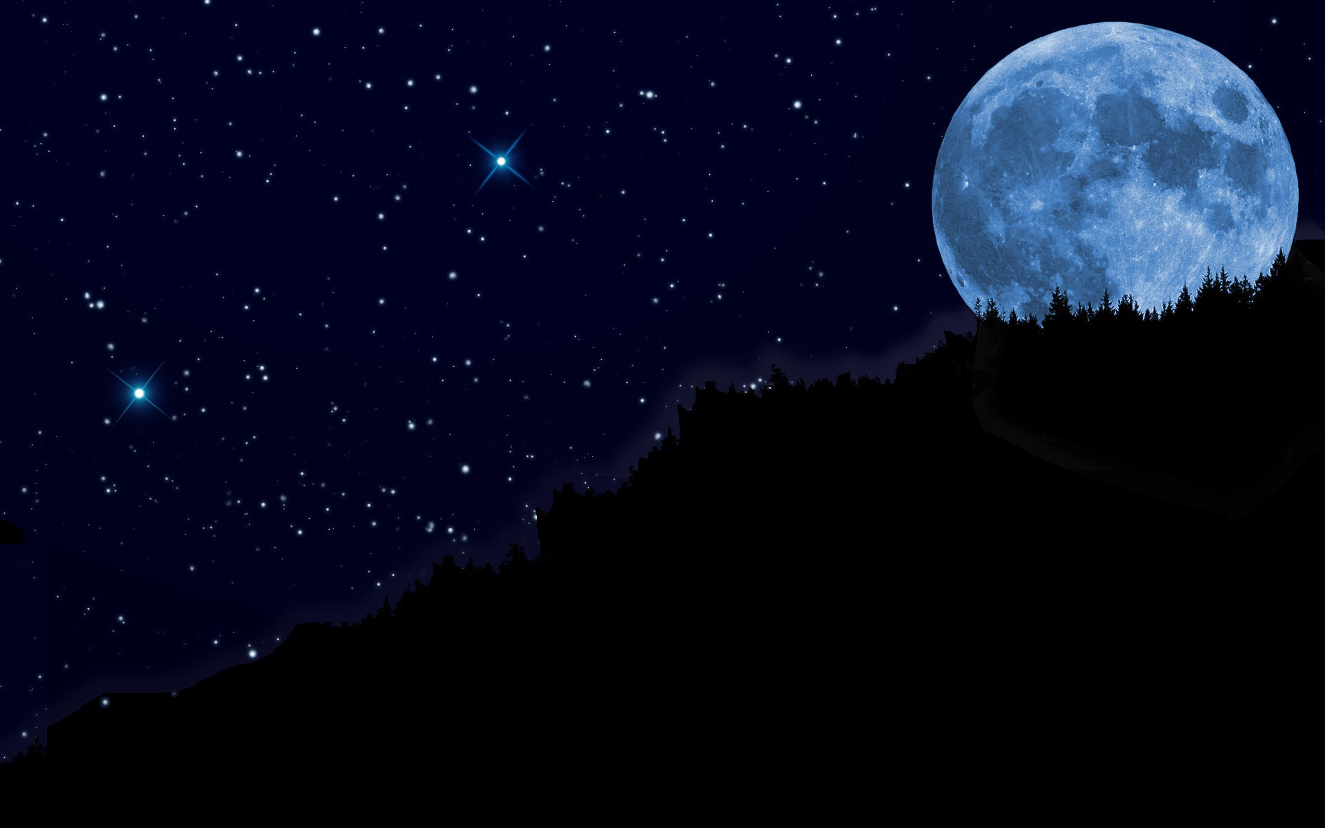 blue moon wallpaper from wpclipart poems from oostburg