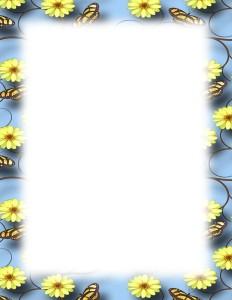 butterfly_flower_faded_border