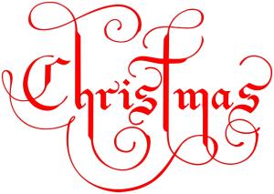 Christmas Ornate: wpclipart