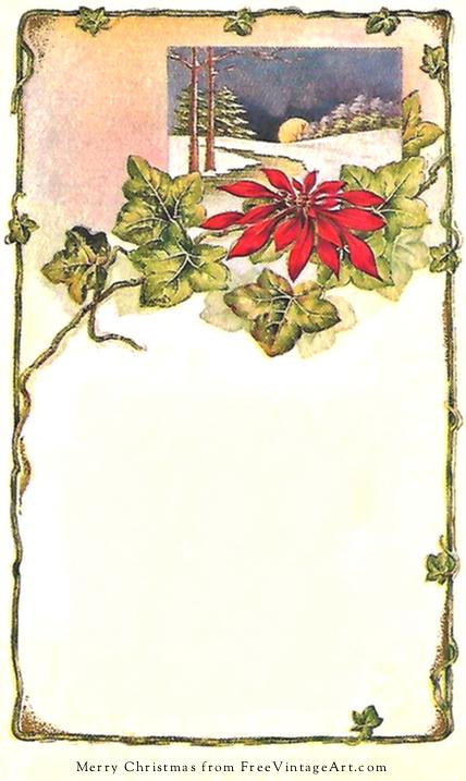 vintage-christmas-greetings-frame